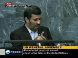Выступление президента Исламской Республики Иран на Ген.Ассамблее ООН - Обращение Иранского народа к народам мира,часть 3